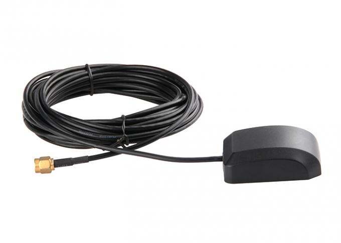 Hign Gain Auto GPS Antenna 1575.42MHZ Navigaiton Signal SMA Connector With Booster