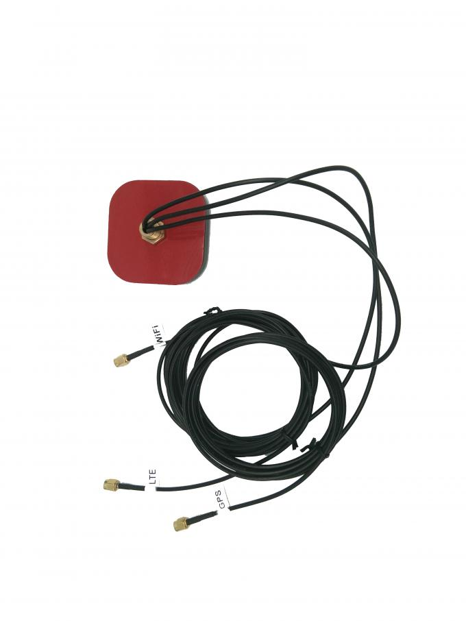 Three In One Antenna GPS Auto Wireless , ROHS GPS Antenna For Car 5V Power