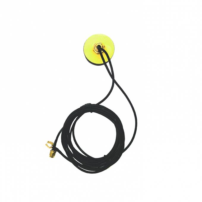 SMA Male Plugvehicle GPS Antenna , Active Magnetic GPS Antenna Universal 1575.42MHz