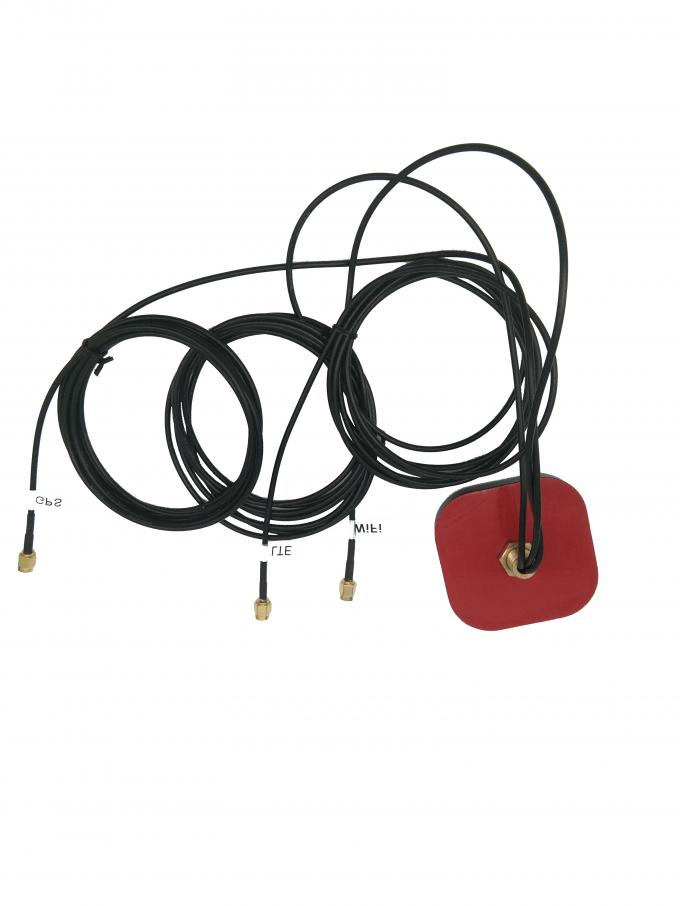 Long Range Wireless GPS Antenna , High Gain Automotive GPS Antenna Lightning Protection