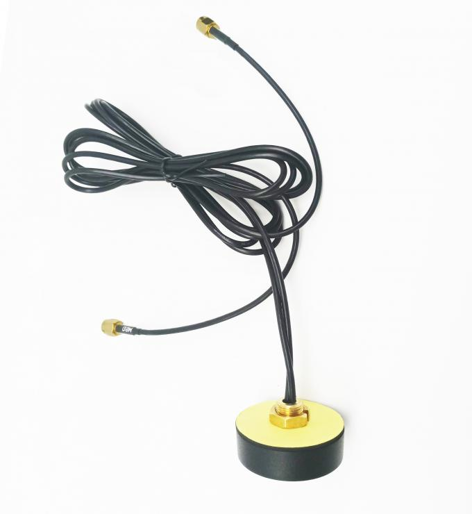 High Gain 28dBi Auto GPS Antenna 1 5m Cable Length For Dash